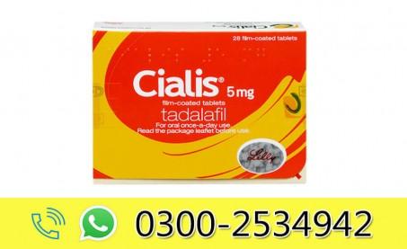 Cialis 5mg Price in Pakistan